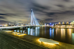 The Erasmus bridge in Rotterdam is always beautiful!