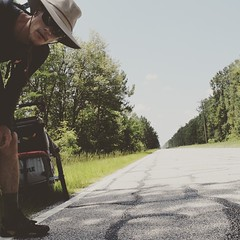 Is this thing on? Long monotonous Rt.17 in Hardeeville, SC. #TheWorldWalk #travel #sc #twwphotos