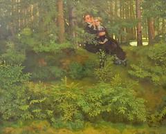 In the Forest, Konstantin Somov, 1914