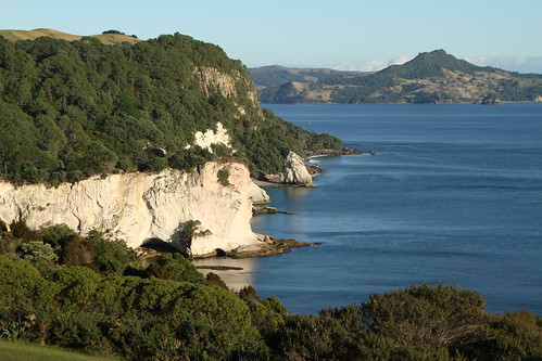 Küste auf der Coromandel Halbinsel