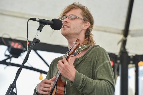 Open mic at Beautiful Days 2016