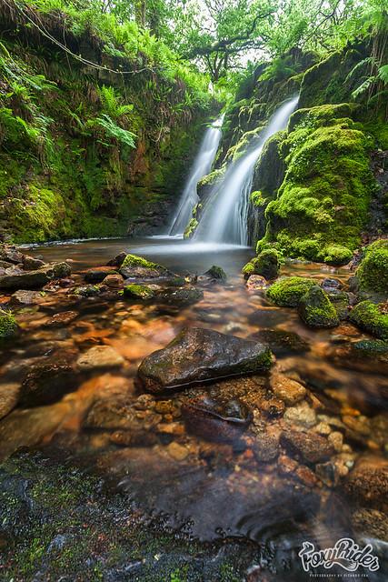 Venford Falls - Lucky ray of light