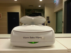 Why are my wipes at home not warm? #firs by avlxyz, on Flickr