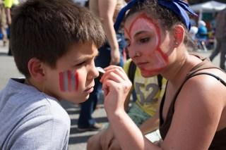 Talle de maquillatge per a infants