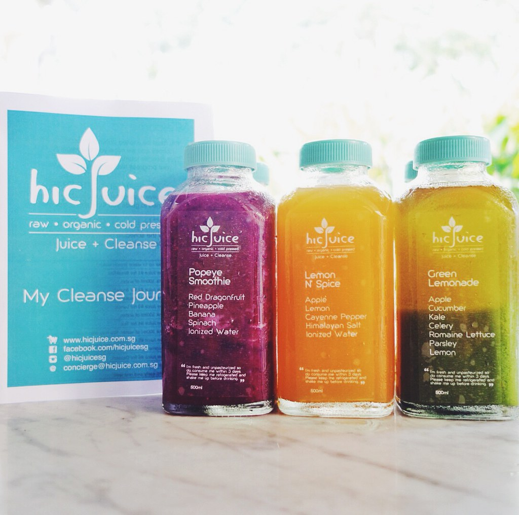 hicJuice juice cleanse singapore