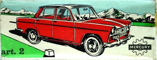 Mercury box Fiat 1800