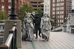 Ten31 Production Live Statues
