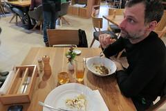 Tasting tradicional meals at SLUK