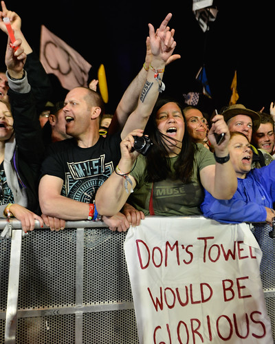 Down front for Muse at Glastonbury 2016 Pyramid Stage (friday) - Sara Bowrey-1