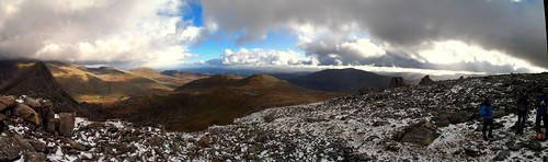 Panorama from Glyder Fawr