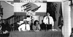 Members of Commission on Self-Determination, 1991