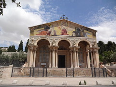 Church of All Nations at the base of the Mount of Olives