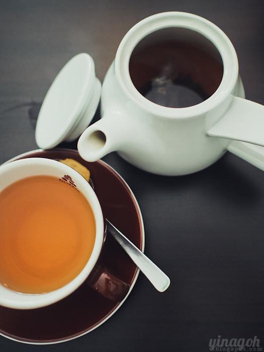 Kooka Cafe Singapore Tea