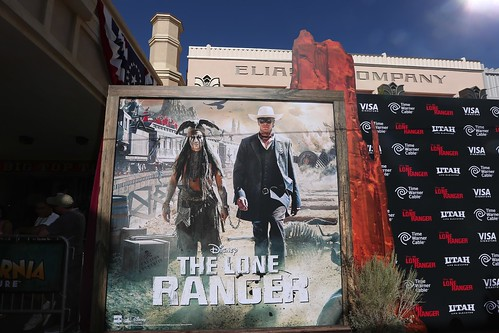 The Lone Ranger world premiere at Disney Calif...