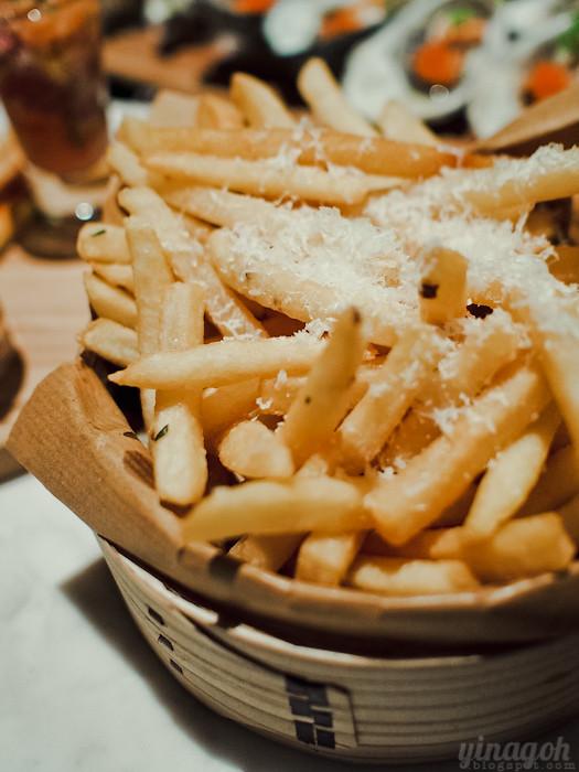 Skyve Wine Bistro Truffle Fries