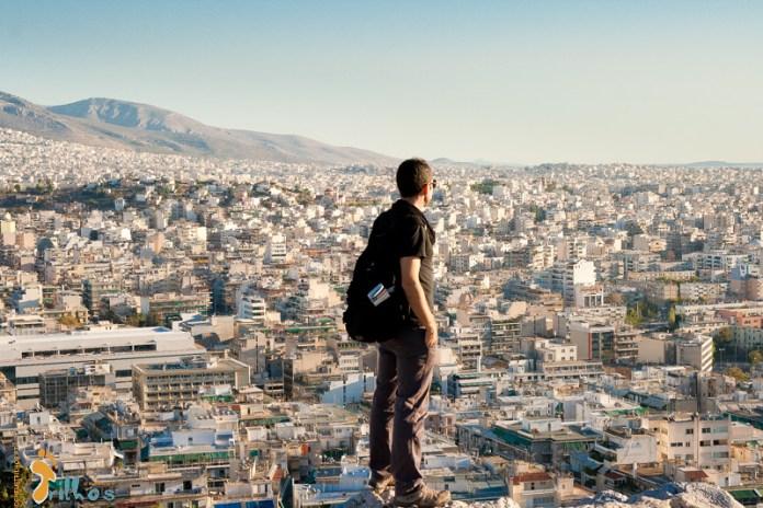 Filopapos Hill, em Atenas