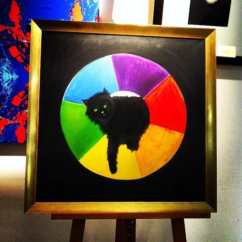 Regenbogenkatze #queer #catcontent @ #lptbw #lptbw141