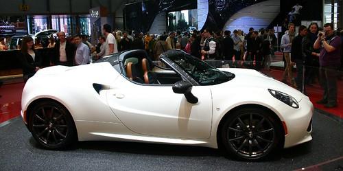 Alfa Romeo 4C Targa spider