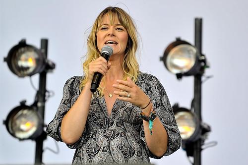 Edith Bowman at Latitude Festival 2015
