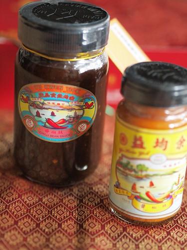余均益の辣椒醬と豉椒醬