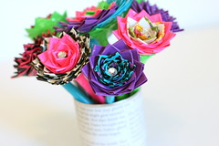 Duck Tape Bouquet