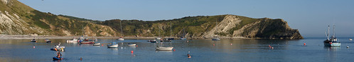 """Lulworth Cove Panorama • <a style=""""font-size:0.8em;"""" href=""""http://www.flickr.com/photos/96019796@N00/32959169106/"""" target=""""_blank"""">View on Flickr</a>"""