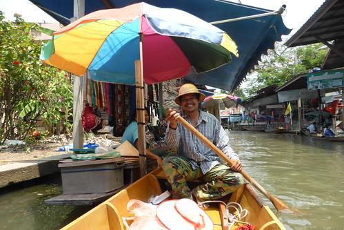 Vorankommen auf den Floating Markets(Foto von Jenni)