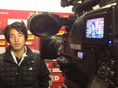 Nürnbergs neuer Japaner Mu Kanazaki nach der Partie gegen Borussia Mönchengladbach
