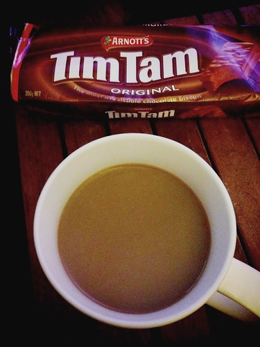 Today is all about...Tim Tam explosion