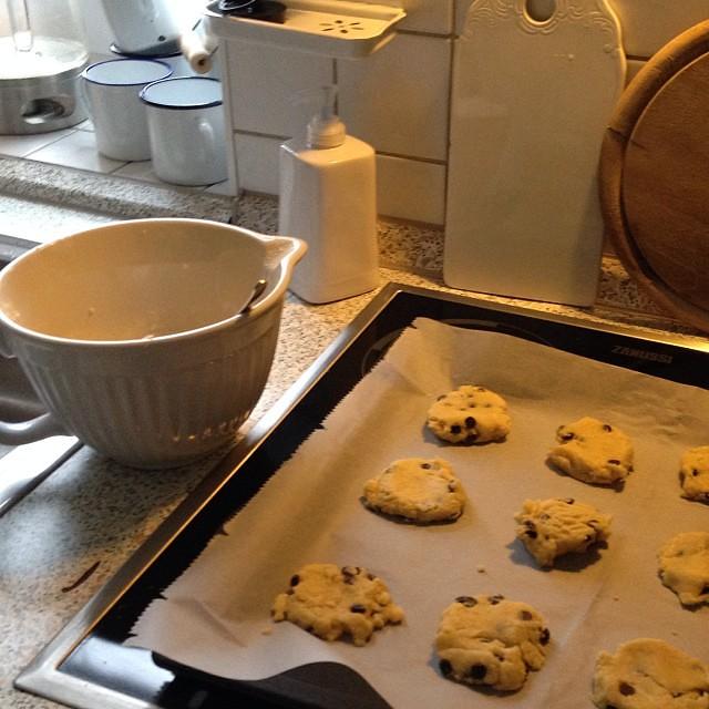 #9 noch ein paar Blitz-Cookies backen zum Kaffee :-) #12von12 #backsucht #cookies #nomnom #iblaursen @iblaursen