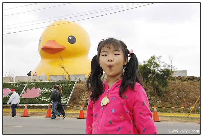 一日遊,新屋,旅遊,桃園,桃園地景藝術節,永安漁港,黃色小鴨 @VIVIYU小世界