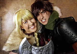 Astrid and Hiccup 1