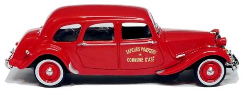 Norev Citroën 11 Familiale pompieri