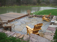 WM Charley MacMartin 7, Flat work, retaining wall, patio, dry laid stone construction, copyright 2014