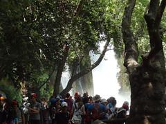 Banias falls - Israeli schoolkids