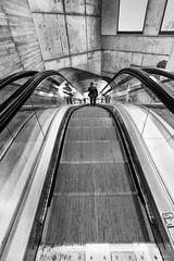 Escalator RER C