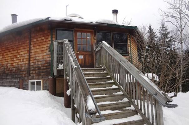 Lonesome Lake Hut