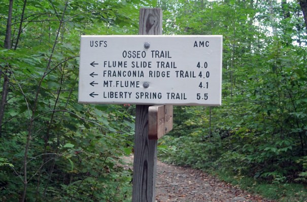 Osseo Trail Sign