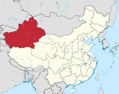 Xinjiang_in_China