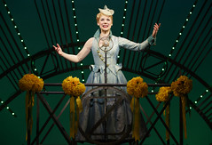 Gina Beck in the Broadway Sacramento presentation of WICKED at the Sacramento Community Center Theater May 28 - June 15, 2014. Photo by Joan Marcus.