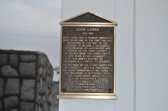 Lange plaque