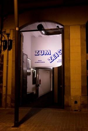 Entrada sala Zumzeig