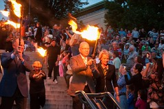 Lighting Ceremony dignitaries