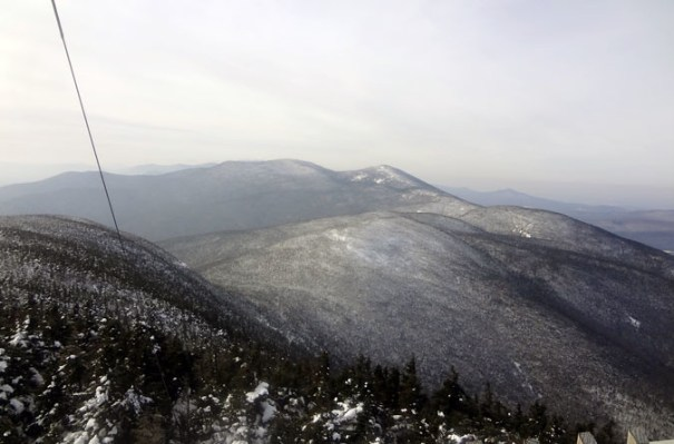Cannon Mountain View of the Kinsmans