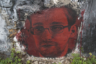 Edward Snowden, painted portrait DDC_8301