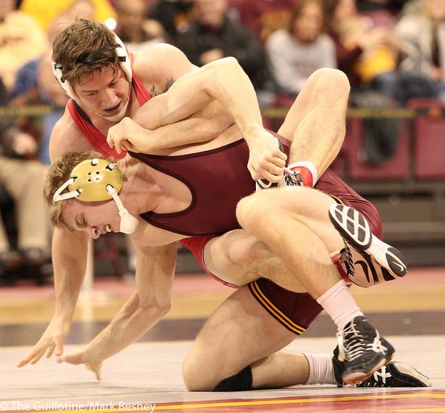 165 #18 Nick Wanzek (Minnesota) dec. Cody Burcher (Ohio State) 5-2