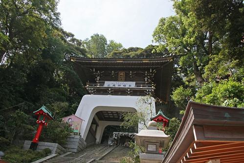江島神社の端心門(Enoshima Shrine, Kanagawa, Japan)