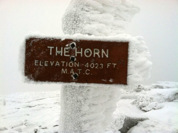 The Horn Summit in the Saddleback Range