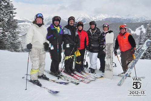 Ski Hawks at Vail