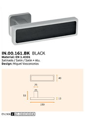 IN.00.161.BK BLACK